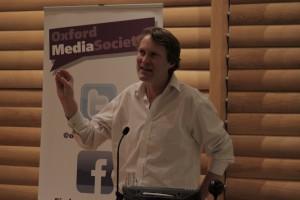Luke Harding speaks to the Oxford Media Society
